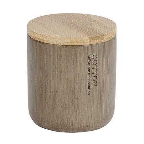 Wenko Palo Taupe Polyresin / Bamboo Universal Box