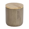 Wenko Palo Taupe Polyresin / Bamboo Universal Box profile small image view 1
