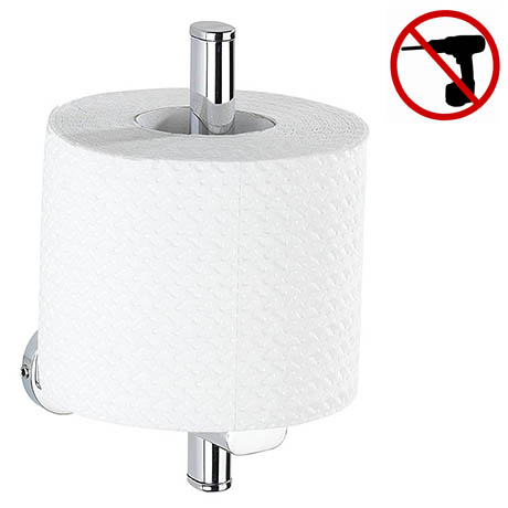 Wenko Power-Loc Uno Puerto Rico Spare Toilet Roll Holder - 22292100