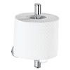 Wenko Power-Loc Uno Puerto Rico Spare Toilet Roll Holder - 22292100 profile small image view 1
