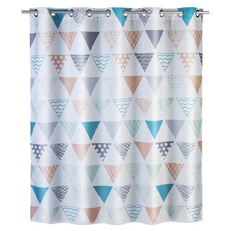 Wenko Ethno Flex Polyester Shower Curtain - W1800 x H2000mm