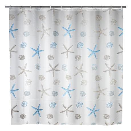 Wenko Bella Mare PEVA Shower Curtain - W1800 x H2000mm - 22490100