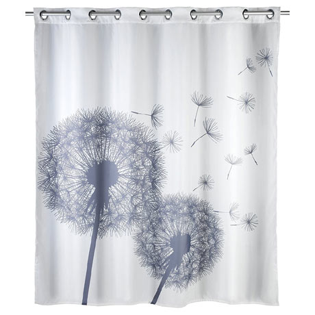 Wenko Astera Flex Polyester Shower Curtain - W1800 x H2000mm