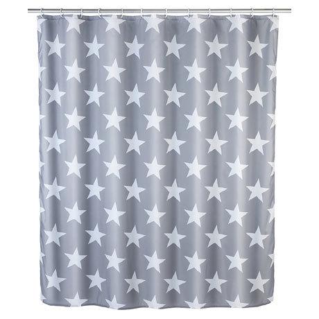 Wenko Stella Polyester Shower Curtain - W1800 x H2000mm