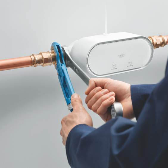 The GROHE Sense Guard Smart Water Controller | Victorian Plumbing