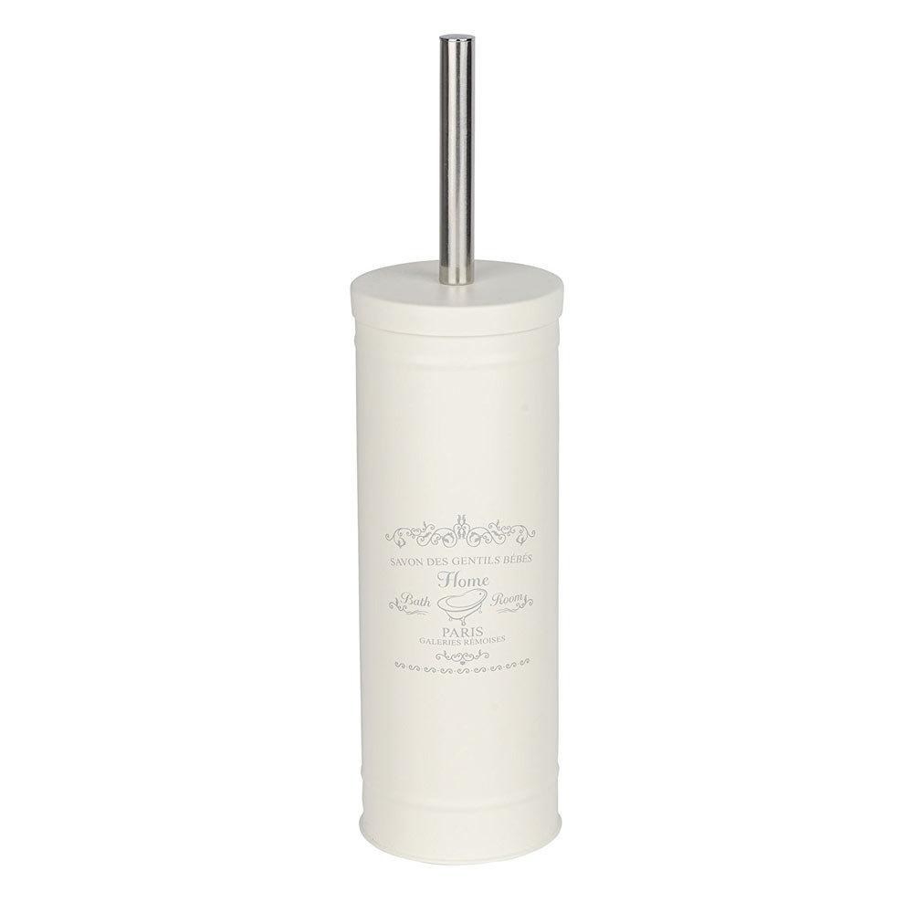 Wenko Home Vintage Steel Toilet Brush + Holder - 22517100