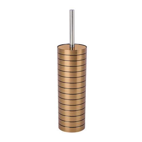 Wenko Copper Stripes Toilet Brush + Holder - 22603100
