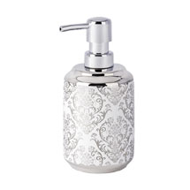 Wenko Baroque Ceramic Soap Dispenser - 22620100 Medium Image