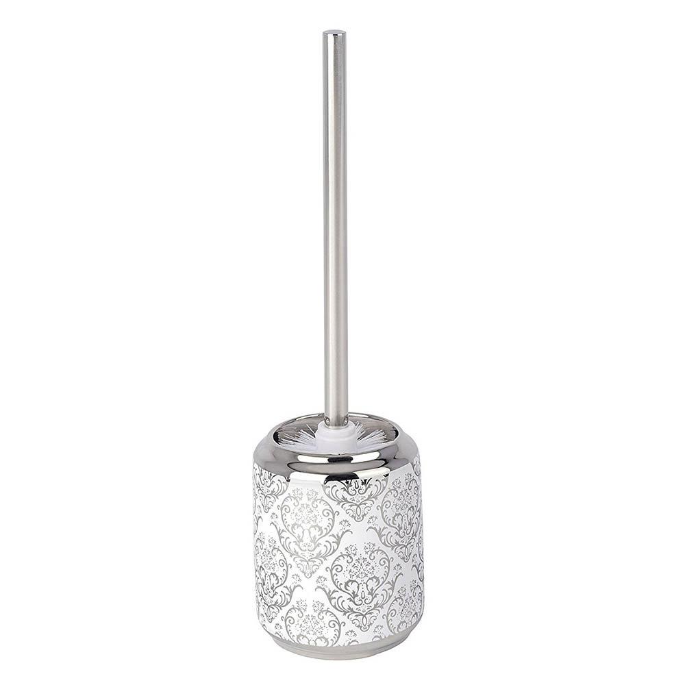 WENKO Toilet Brush Set Standard in Beige//White