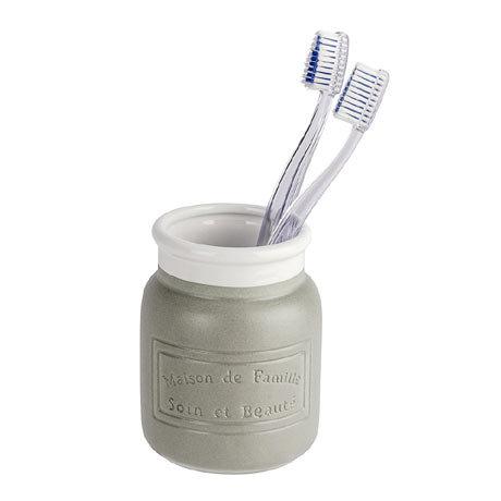 Wenko Maison Grey Ceramic Tumbler - 22639100