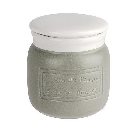 Wenko Maison Grey Ceramic Storage Jar - 22642100