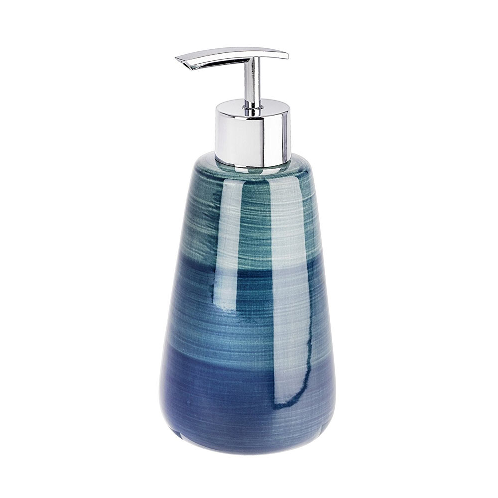 Wenko Pottery Petrol Ceramic Soap Dispenser - 22647100