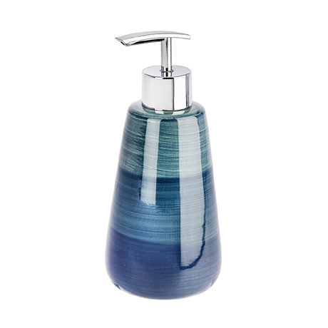 Wenko Pottery Petrol Ceramic Soap Dispenser - 22647100