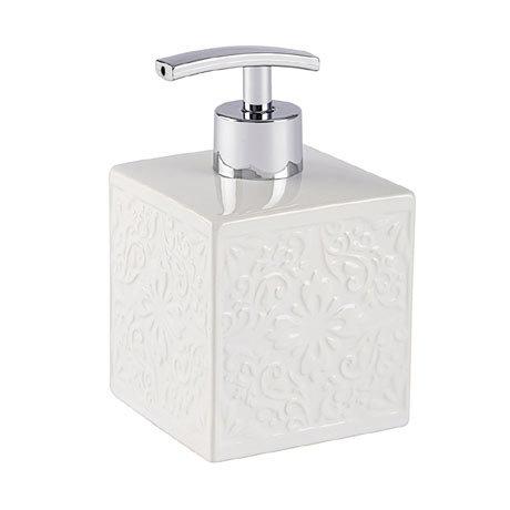 Wenko Cordoba White Ceramic Soap Dispenser - 22650100