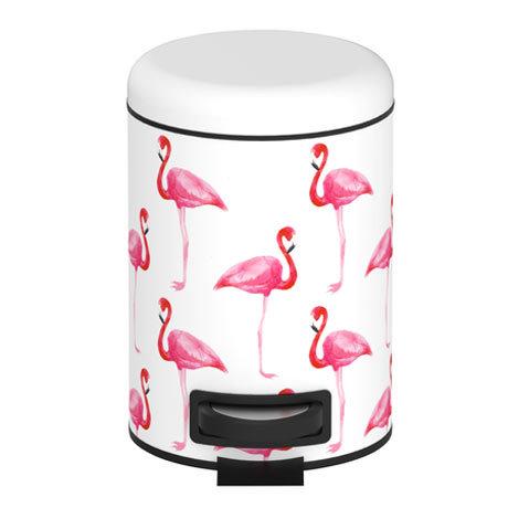 Wenko Flamingo 3 Litre Cosmetic Pedal Bin - 22737100