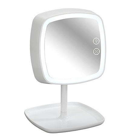Wenko Ostia LED-Cosmetic Mirror & Table Lamp - 22851100