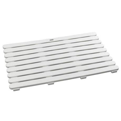 Wenko 80x50cm White Duckboard - 22946100