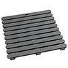 Wenko 55x55cm Grey Duckboard - 22947100 Small Image