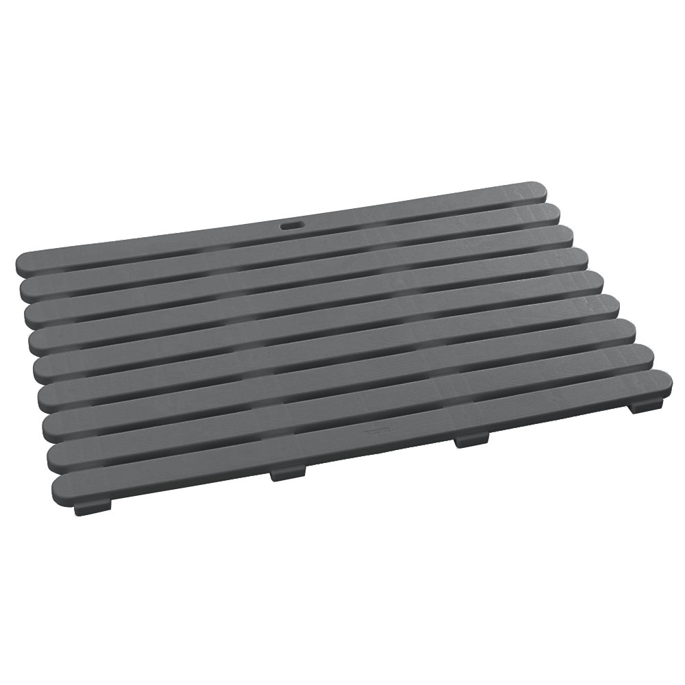 Wenko 80x50cm Grey Duckboard - 22948100