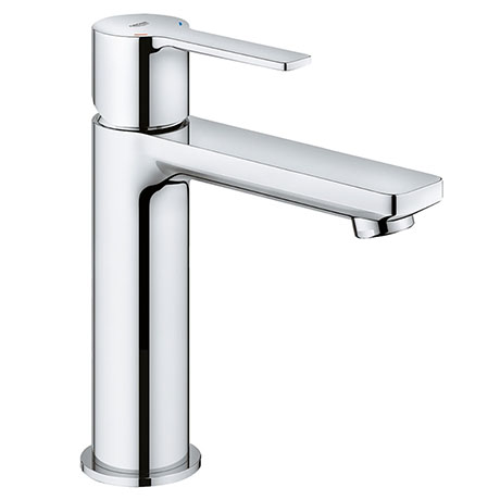 "Grohe Lineare Basin Mixer 1/2"" S-Size with Push-Open Waste Set - 23106001"