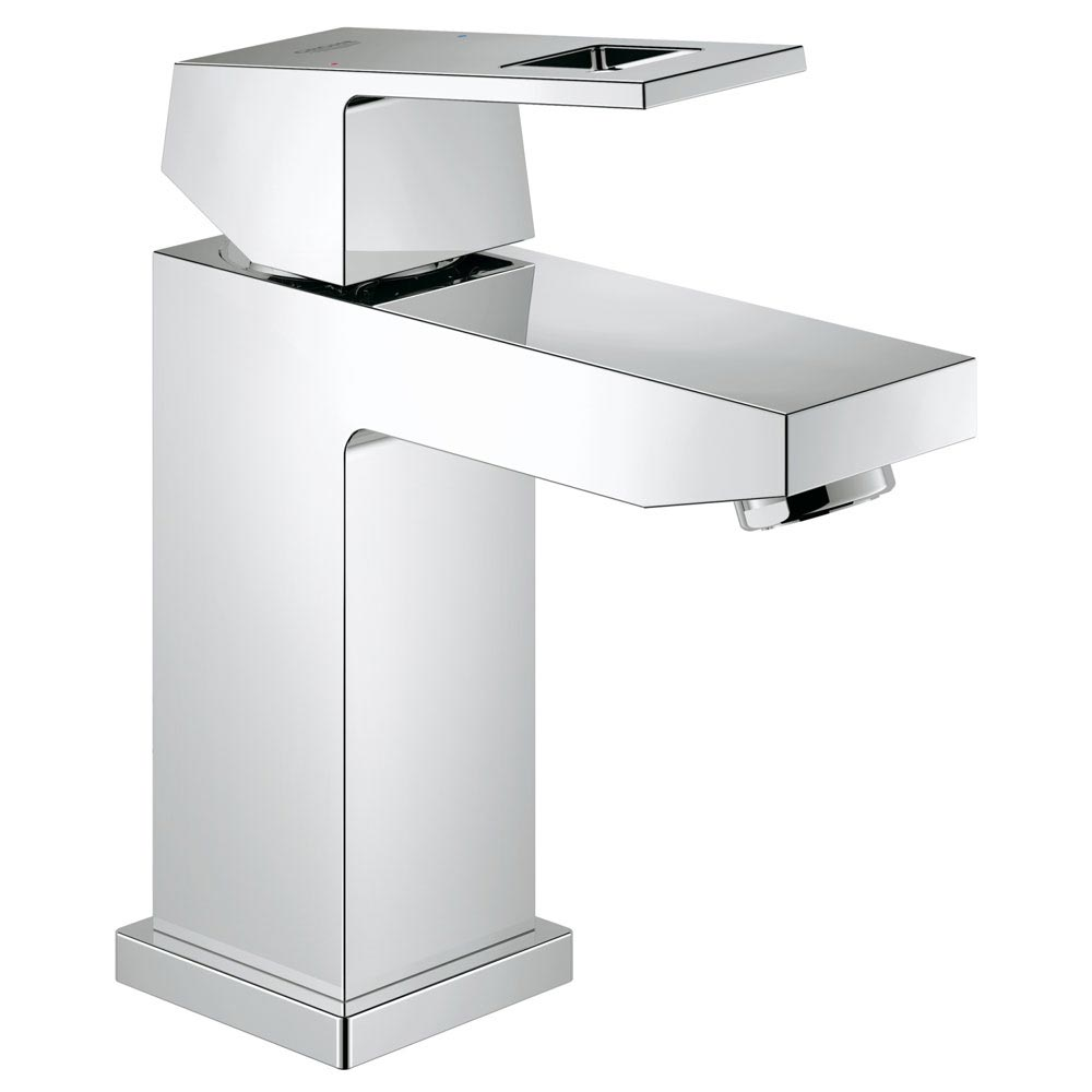 Grohe Eurocube Mono Basin Mixer - 23132000 profile large image view 1