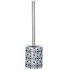 Wenko Murcia Blue Ceramic Toilet Brush - 23203100 profile small image view 1