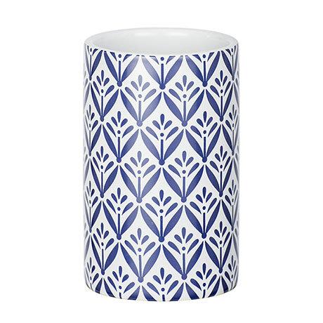 Wenko Lorca Blue Ceramic Tumbler - 23204100