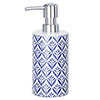 Wenko Lorca Blue Ceramic Soap Dispenser - 23205100 profile small image view 1