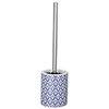 Wenko Lorca Blue Ceramic Toilet Brush - 23207100 Small Image