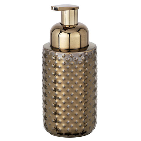 Wenko Keo Copper Ceramic Soap Dispenser - 23267100