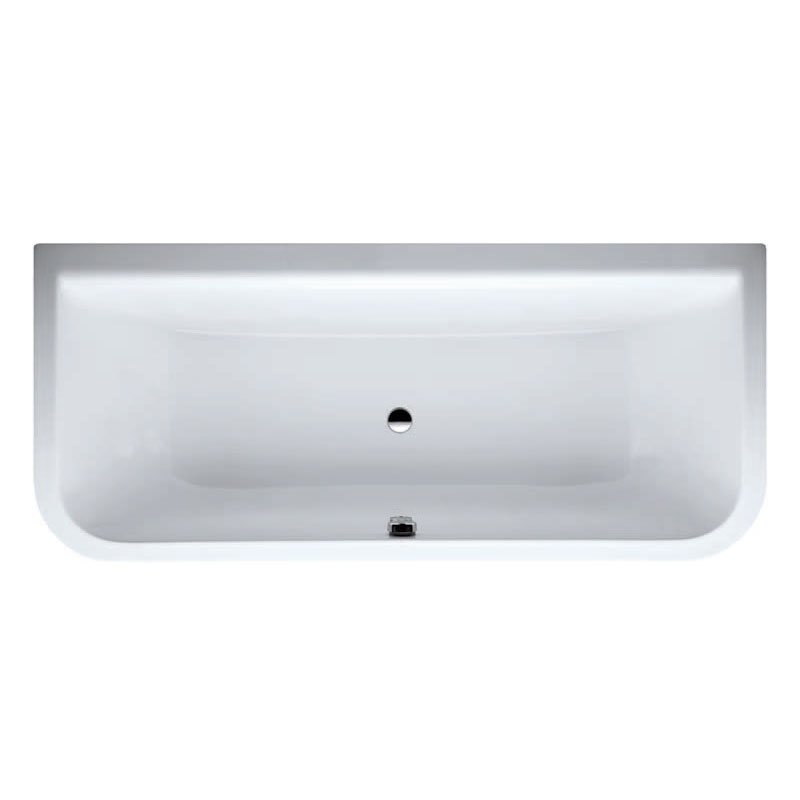 Laufen - Form 1800 x 800mm Back to Wall Bath with Frame and C Panel Profile Large Image