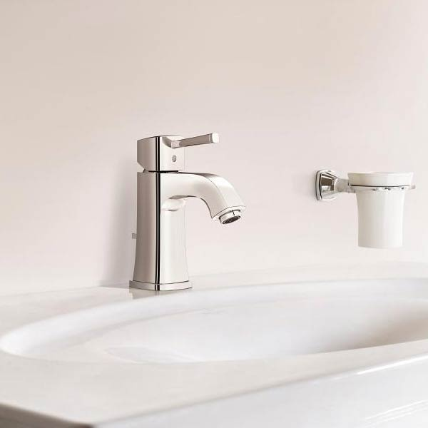Grohe Grandera Mono Basin Mixer with Pop-up Waste - Chrome - 23303000 profile large image view 4