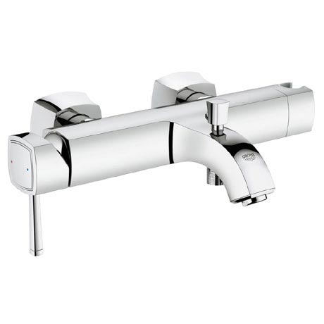 Grohe Grandera Wall Mounted Bath Shower Mixer - Chrome - 23317000