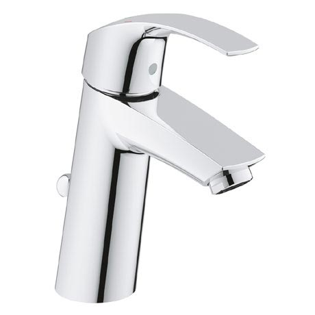 Grohe Eurosmart Mono Basin Mixer with Pop-up Waste - 23322001