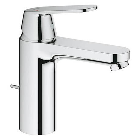 Grohe Eurosmart Cosmopolitan M-Size Mono Basin Mixer with Pop-up Waste - 23325000