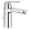 Grohe Eurosmart Cosmopolitan M-Size Mono Basin Mixer with Pop-up Waste - 23325000 profile small image view 1
