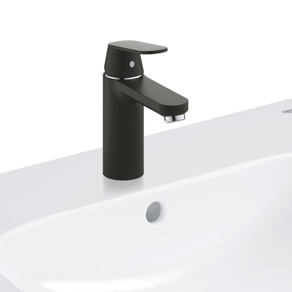 Grohe Matt Black Eurosmart Cosmopolitan Mono Basin Mixer - 23327KW0