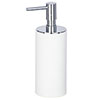 Wenko Ida White Soap Dispenser - 23333100 profile small image view 1