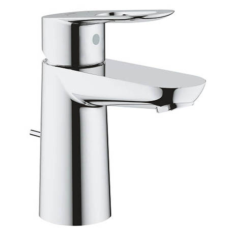 Grohe BauLoop S-Size Mono Basin Mixer with Pop-up Waste - 23335000