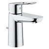Grohe BauLoop S-Size Mono Basin Mixer with Pop-up Waste - 23335000 profile small image view 1