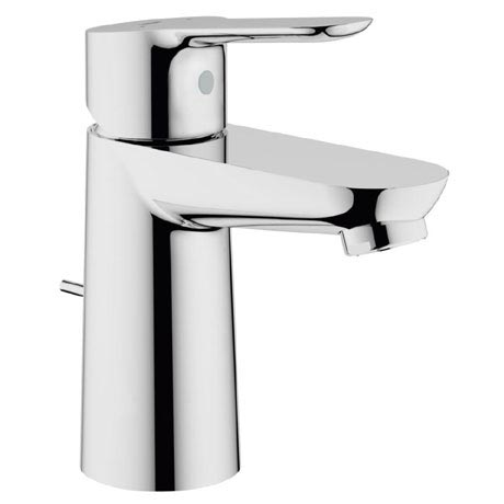 Grohe BauEdge Mono Basin Mixer with Pop-up Waste - 23356000