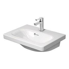 Duravit DuraStyle 550mm 1TH Furniture Compact Washbasin - 2337550000