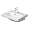 Duravit DuraStyle 550mm 1TH Furniture Compact Washbasin - 2337550000 profile small image view 1