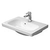 Duravit DuraStyle 635mm 1TH Furniture Compact Washbasin - 2337630000 profile small image view 1