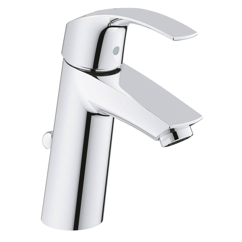 Grohe Eurosmart Mono Basin Mixer with Pop-up Waste - 2339310E profile large image view 1