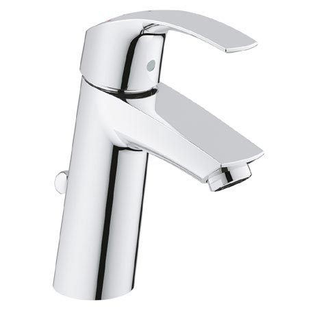Grohe Eurosmart Mono Basin Mixer with Pop-up Waste - 2339310E