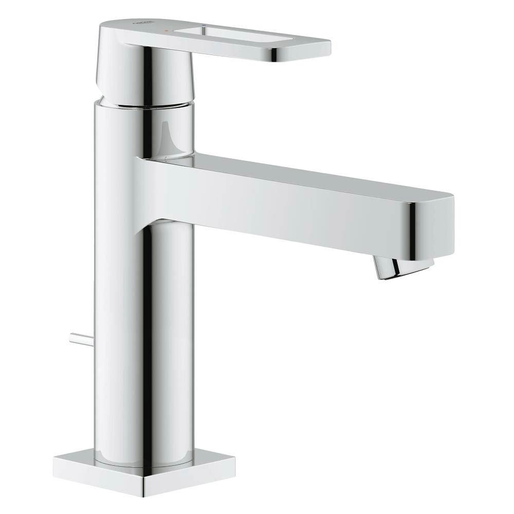 Grohe Quadra Mono Basin Mixer with Pop-up Waste - 23441000 profile large image view 1