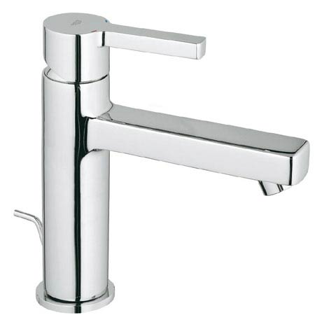 Grohe Lineare Mono Basin Mixer with Pop-up Waste - 23443000