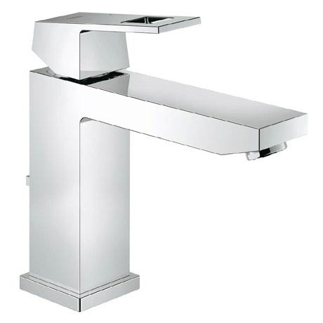Grohe Eurocube Mono Basin Mixer with Pop-up Waste - 23445000
