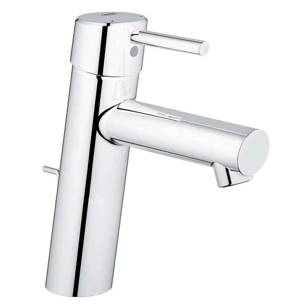 Grohe Concetto Mono Basin Mixer with Pop-up Waste - 23450001 Large Image